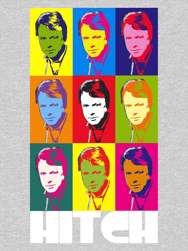 Christopher Hitchens - poster boy of atheism? (dark) | Unisex T-Shirt