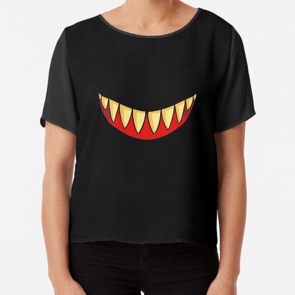 Evil Smile Chiffon Top