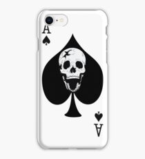 Ace of Spades Skull iPhone Case/Skin