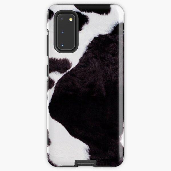 holstein cow faux skin Samsung Galaxy Tough Case