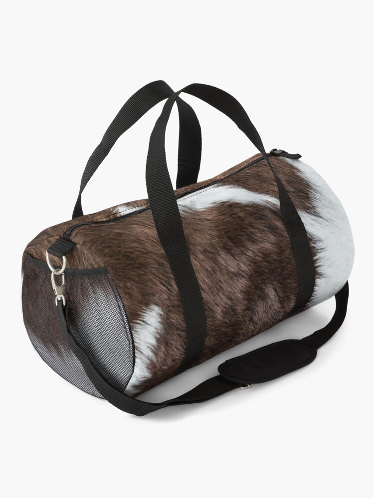 Alternate view of Cowhide Patch Duffle Bag