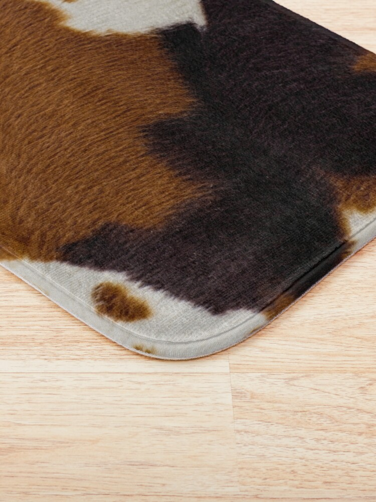 Alternate view of Spotted Cowhide Bath Mat