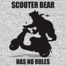 Scooter Bear by pixelman