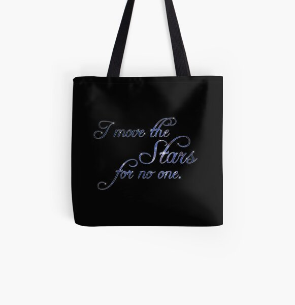 Move The Stars All Over Print Tote Bag