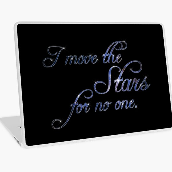 Move The Stars Laptop Skin
