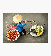 Food Carrier Photographic Print