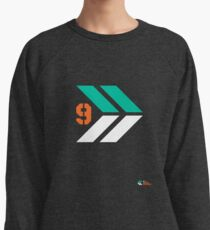 Arrows 1 - Emerald Green/Orange/White Lightweight Sweatshirt