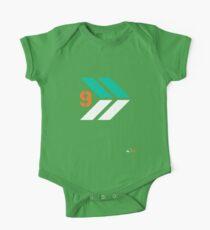 Arrows 1 - Emerald Green/Orange/White One Piece - Short Sleeve
