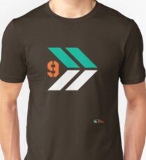 Arrows 1 - Emerald Green/Orange/White T-Shirt