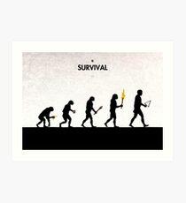 99 Steps of Progress - Survival Art Print