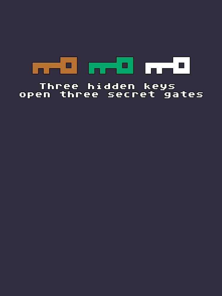 Three Hidden Keys | Unisex T-Shirt