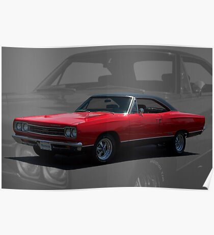 1969 Plymouth GTX 440 Magnum Poster