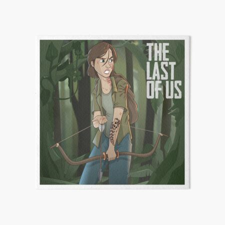 The Last of Us Parte II - Ellie Forrest Art Board Print