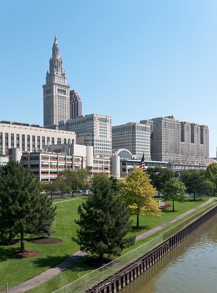 Cleveland On The River by StonePhotos