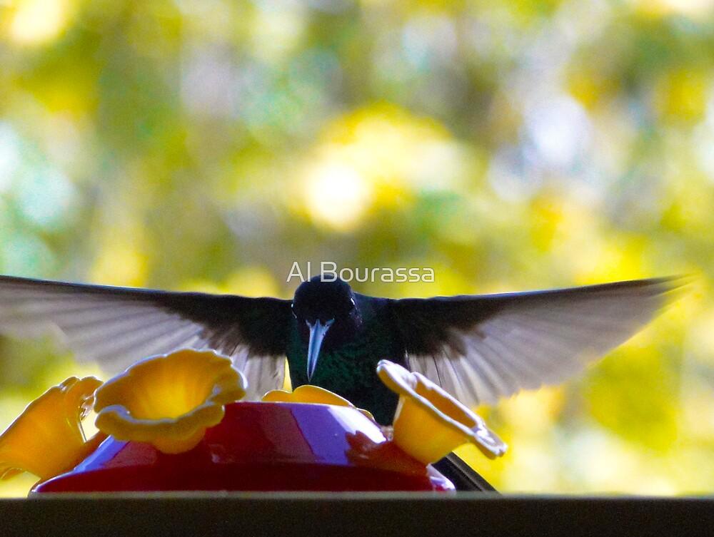 I Bow To The Nectar God by Al Bourassa