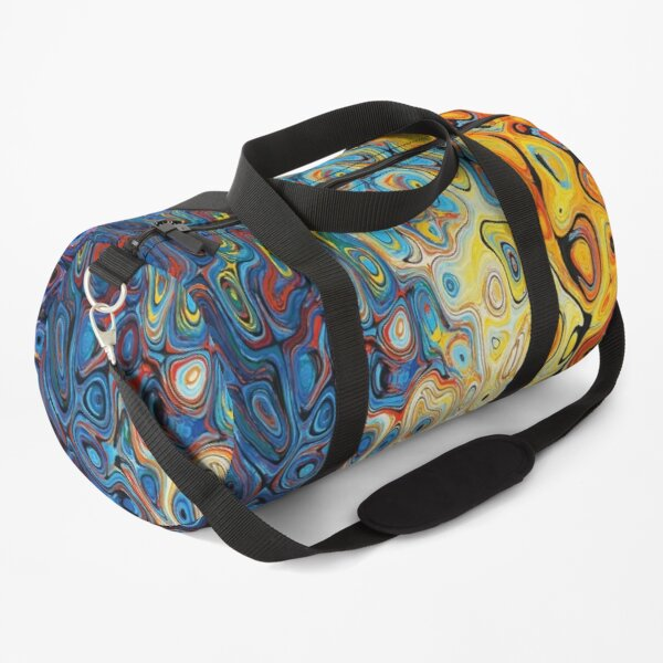 Colorful abstract art. Duffle Bag