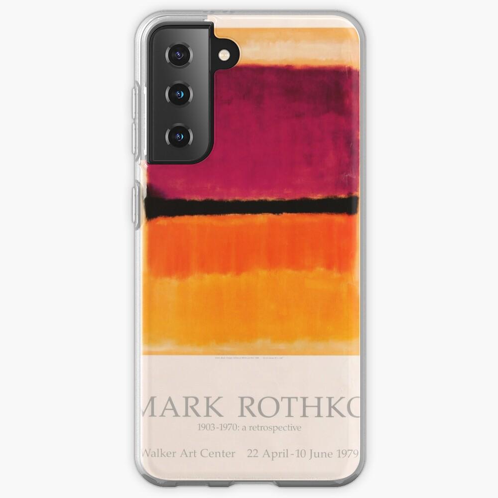 Mark Rothko Exhibition poster 1979 Case & Skin for Samsung Galaxy