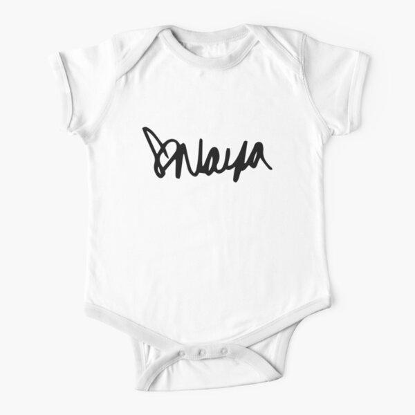 Naya Rivera Autograph Short Sleeve Baby One-Piece