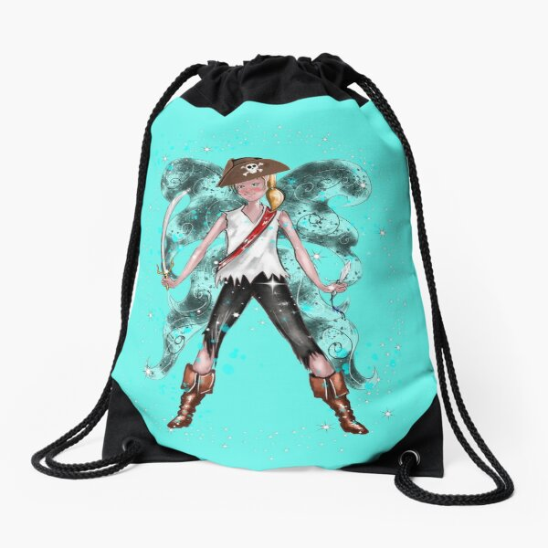 Pirate Peter The Pirate Fairy™ Drawstring Bag