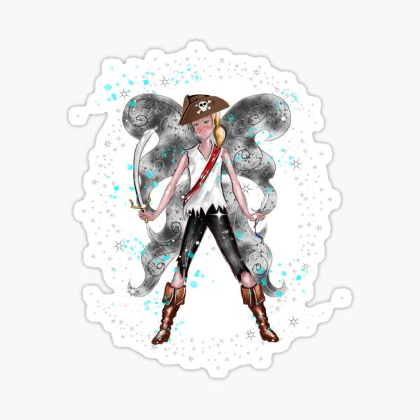 Pirate Peter The Pirate Fairy™ Sticker