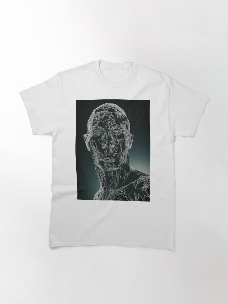 Alternate view of DARK PORTRAIT Classic T-Shirt