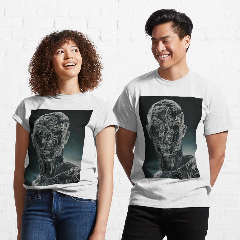 DARK PORTRAIT Classic T-Shirt