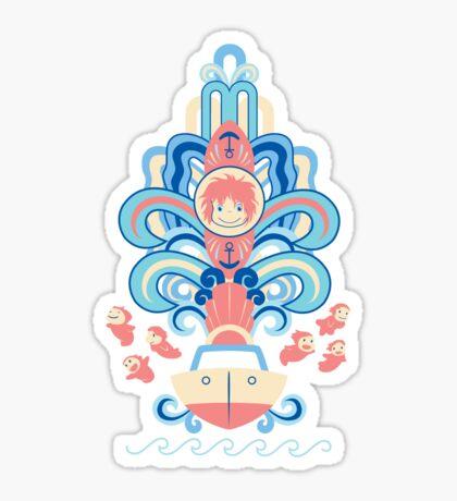 Ponyo Deco Sticker