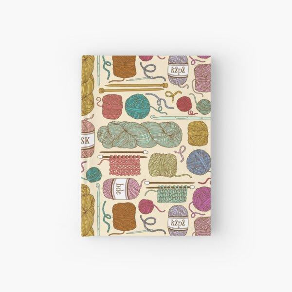 KNIT or CROCHET? Hardcover Journal