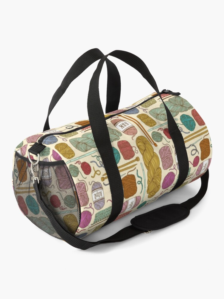 Alternate view of KNIT or CROCHET? Duffle Bag