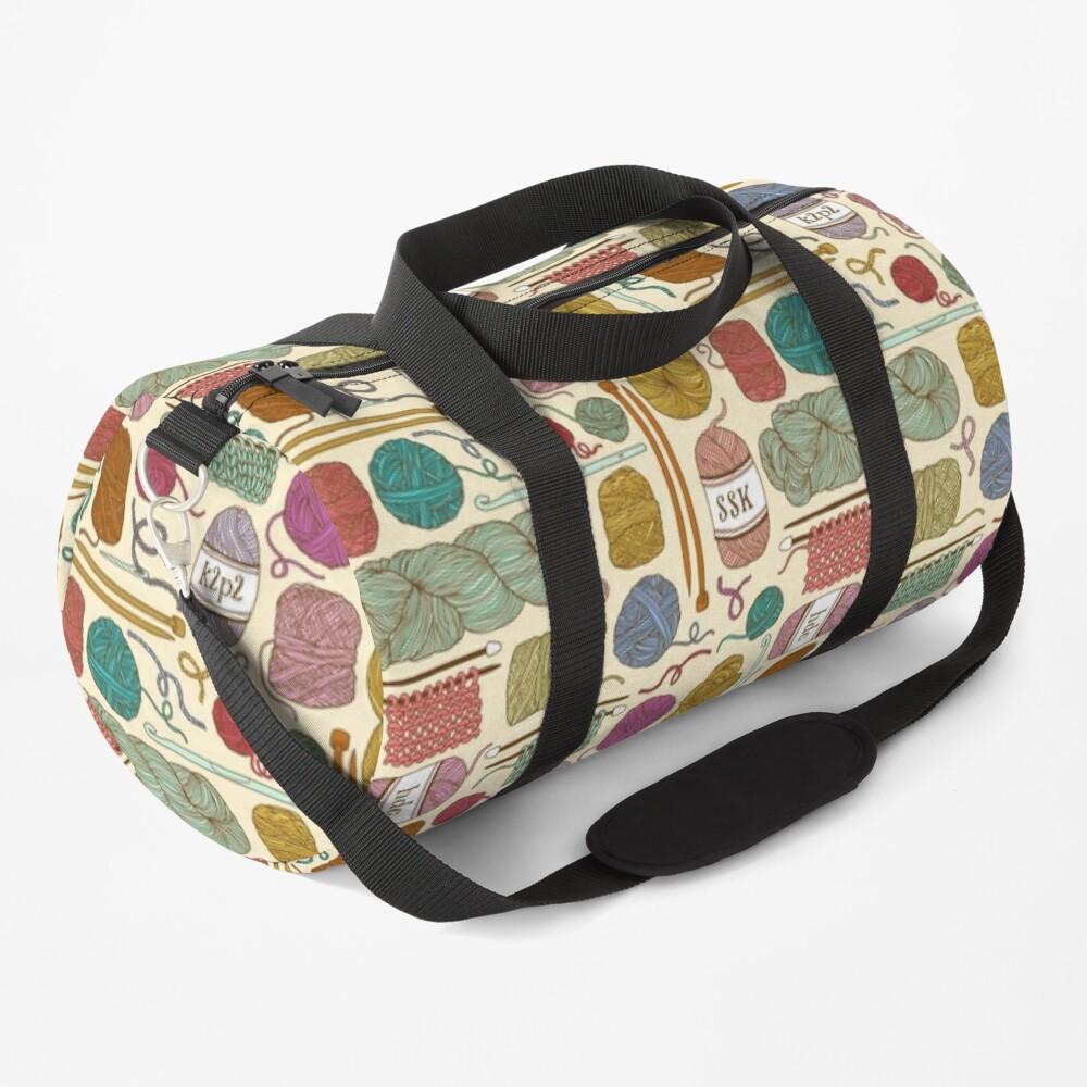 KNIT or CROCHET? Duffle Bag