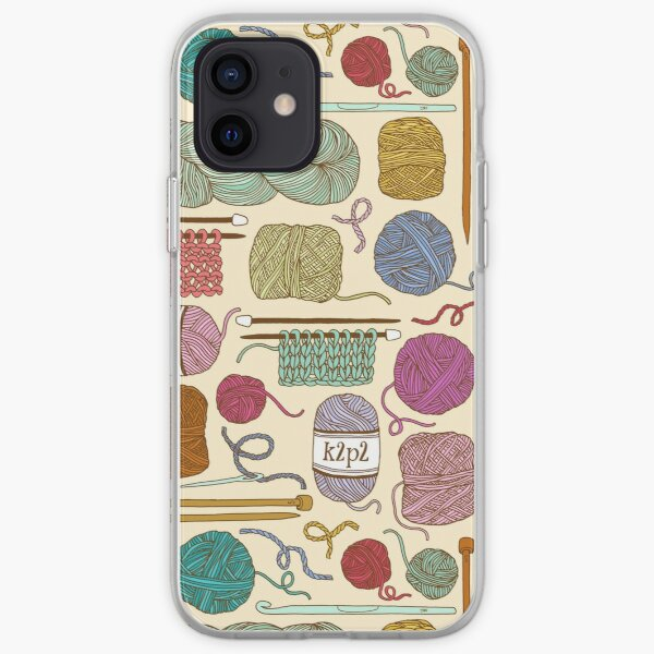 KNIT or CROCHET? iPhone Soft Case