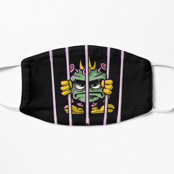 Stop Covid-19 Coronavirus Flat Mask