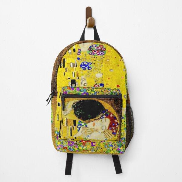 The Kiss by Gustav Klimt  |  Liebespaar - The Lovers Backpack