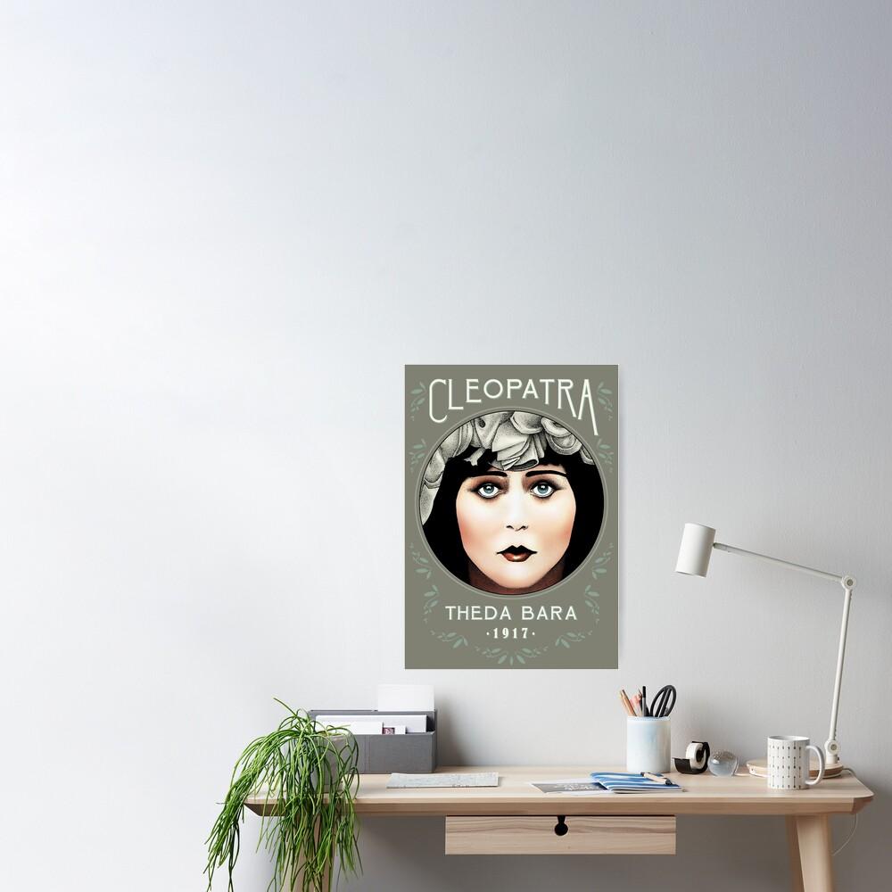 Theda Bara as Cleopatra Poster