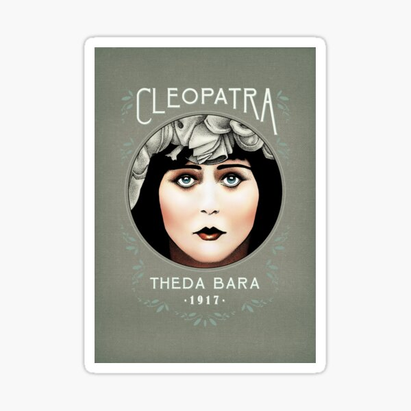 Theda Bara as Cleopatra Sticker