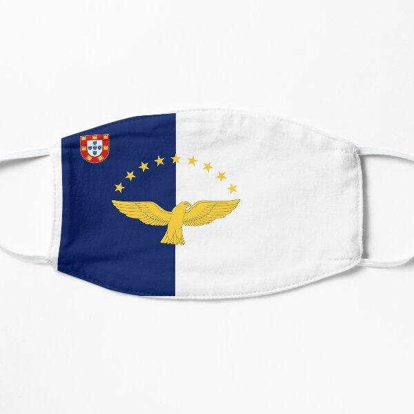 Drapeau des Açores Masque sans plis
