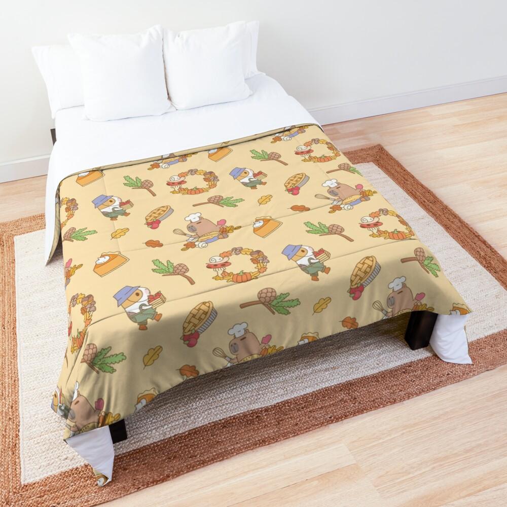 Bubu the Guinea pig, Fall and Pie  Comforter