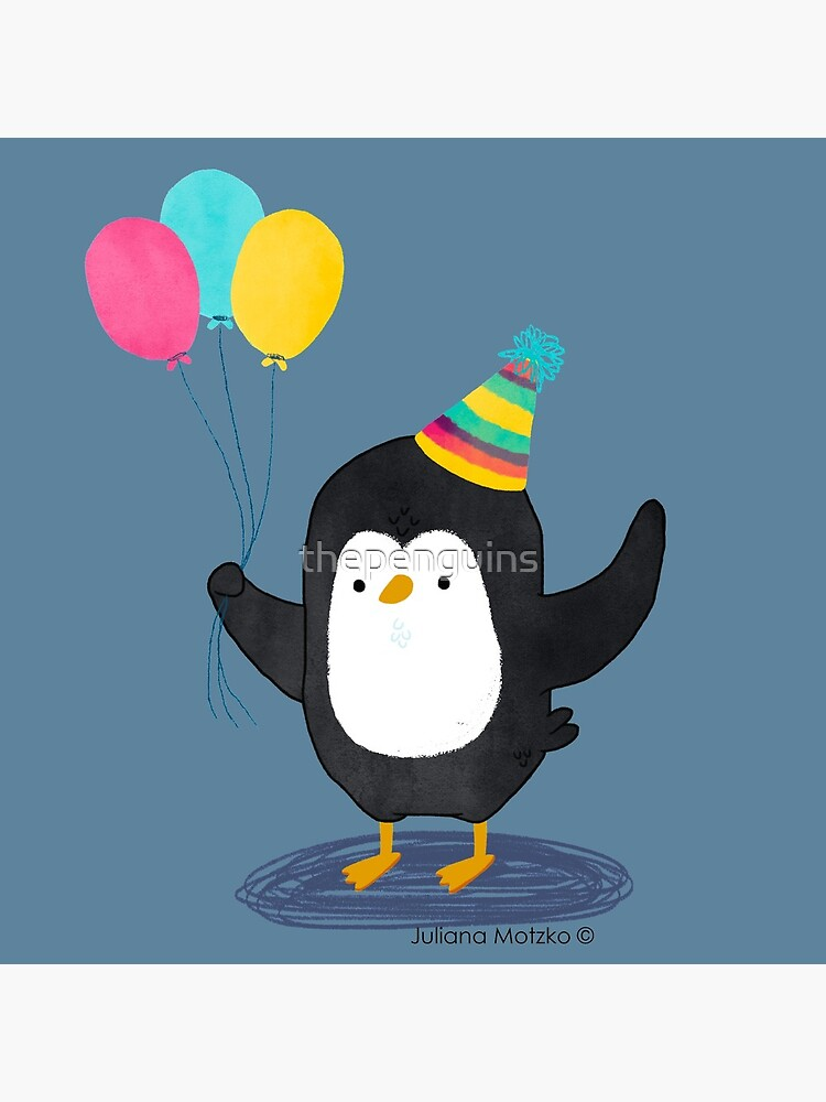 Birthday Penguin by thepenguins