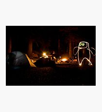 Creature of the Forest Night Photographic Print