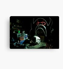 Creature of the Basement Canvas Print