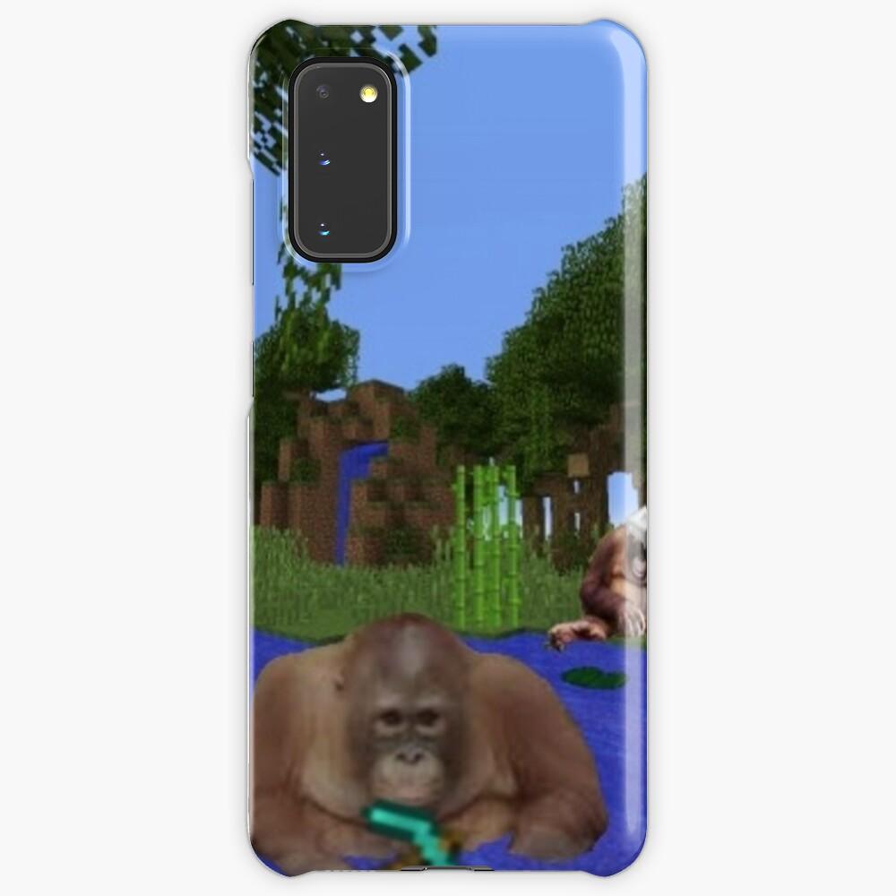 Minecraft Monkey  Case & Skin for Samsung Galaxy