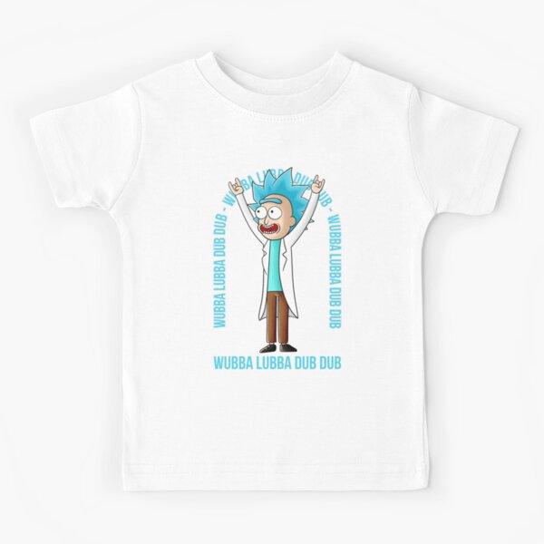 wubba lubba dub dub Kids T-Shirt
