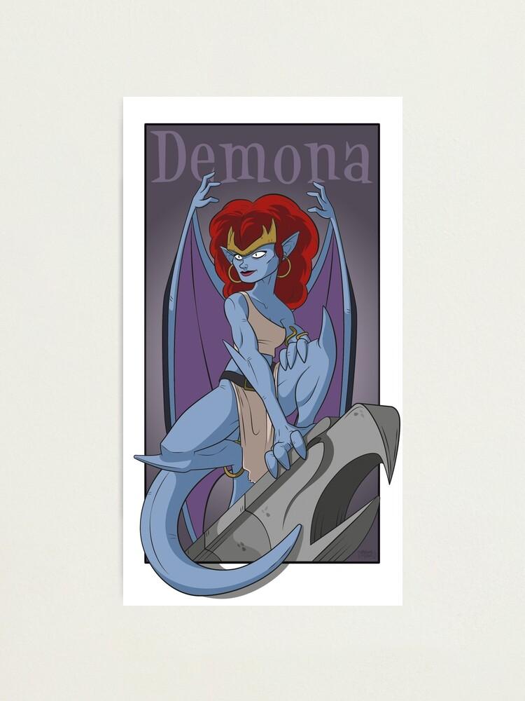 Alternate view of Demona Gargola Photographic Print