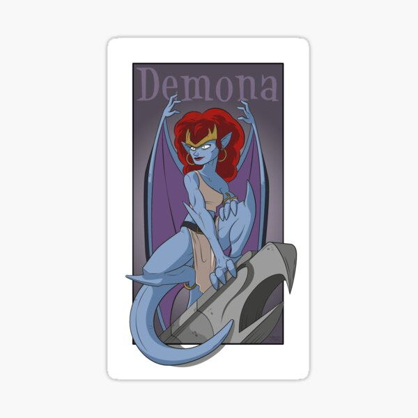 Demona Gargola Sticker