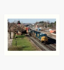 CSX Stack Train Art Print