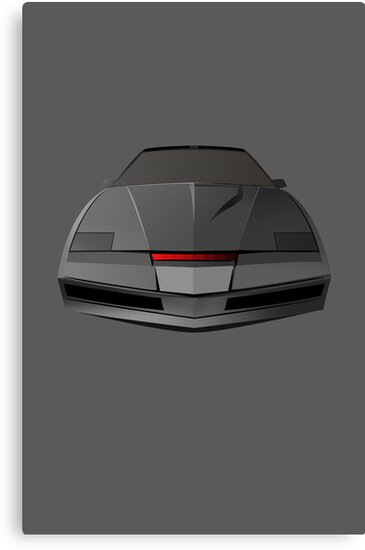Knight Rider KITT Car  by Creative Spectator