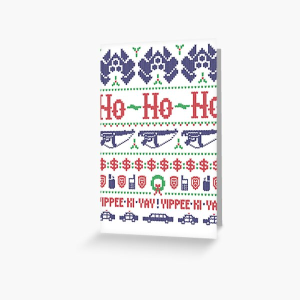 McClane Christmas Sweater Greeting Card