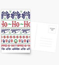 McClane Christmas Sweater Postcards