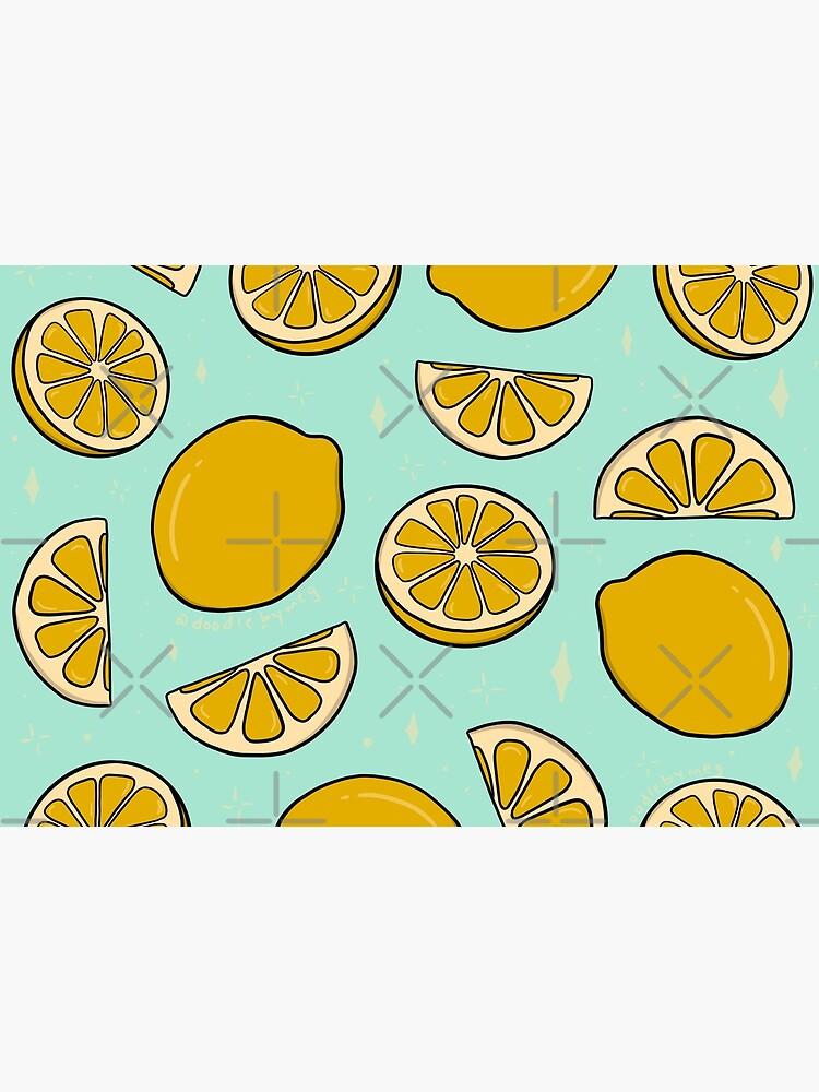 Lemon Print by doodlebymeg