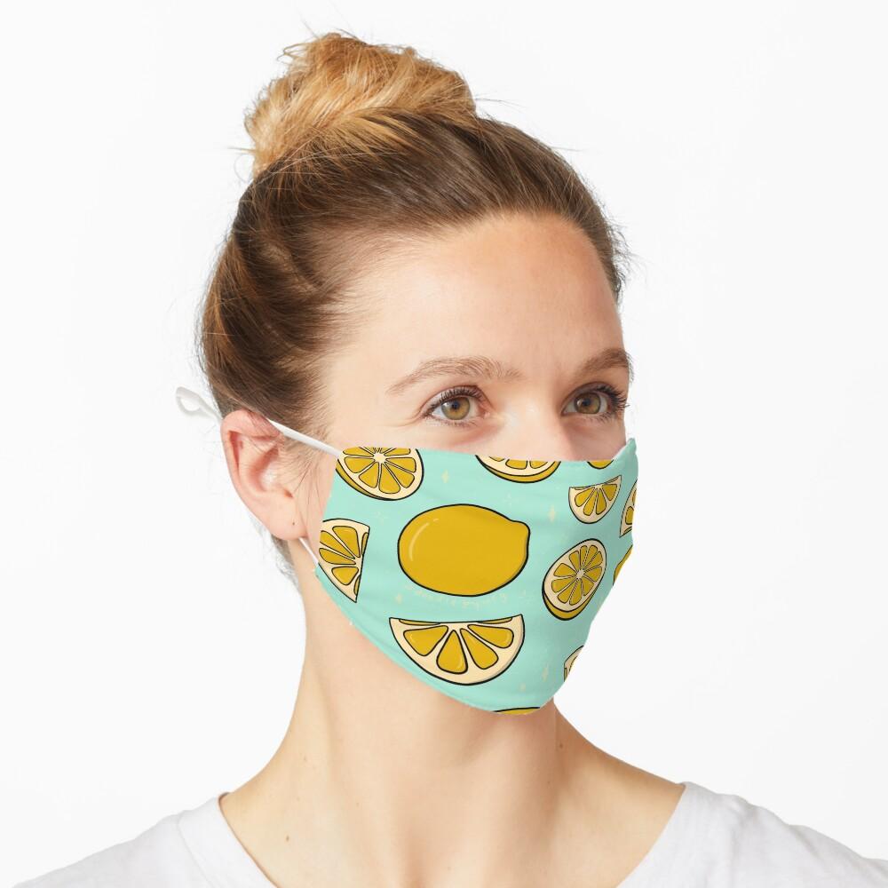 Lemon Print Mask
